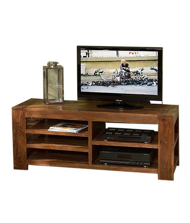 royal homz sheesham wood simple tv stand buy royal homz sheesham wood simple tv stand online. Black Bedroom Furniture Sets. Home Design Ideas