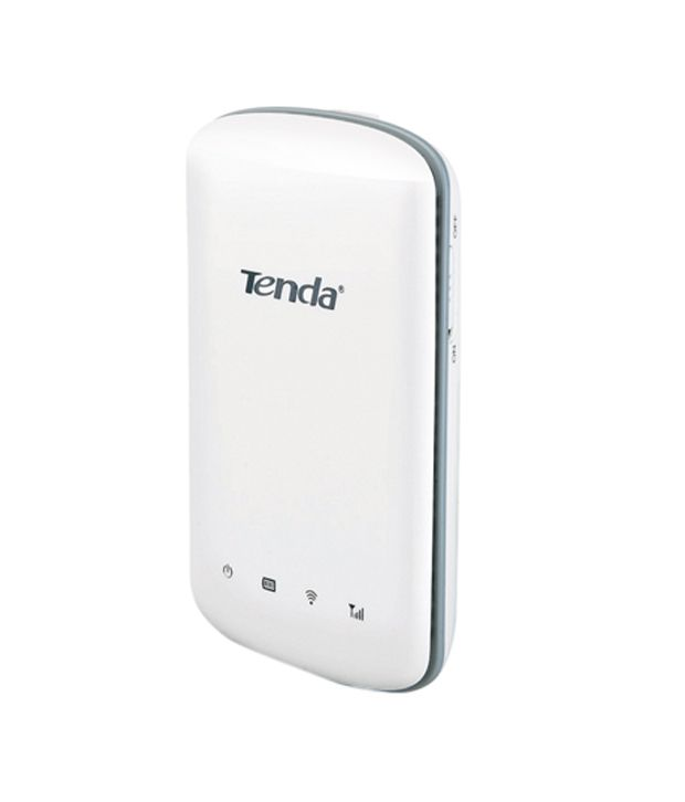 Tenda 150 Mbps Wireless Pocket 3G Router with sim card slot and In-Built battery (TE-3G186R)