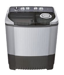 LG P8537R3S(RG) 7.5 Kg Semi Automatic Top Loading Grey Washing Machine