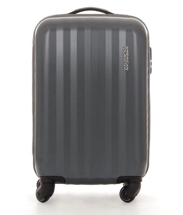 American Tourister Large (70 Cm & Above) 4 Wheel Soft Charcoal Shade Spinner Luggage Trolley