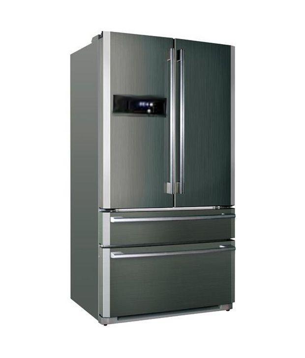 haier 686 ltr hrb701mps side by side refrigerator grey. Black Bedroom Furniture Sets. Home Design Ideas