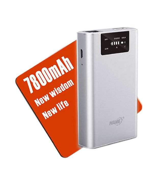 Hame 150 Mbps 3 in 1 Portable 3G Wireless Router (Powerbank-3G Router) (F1)