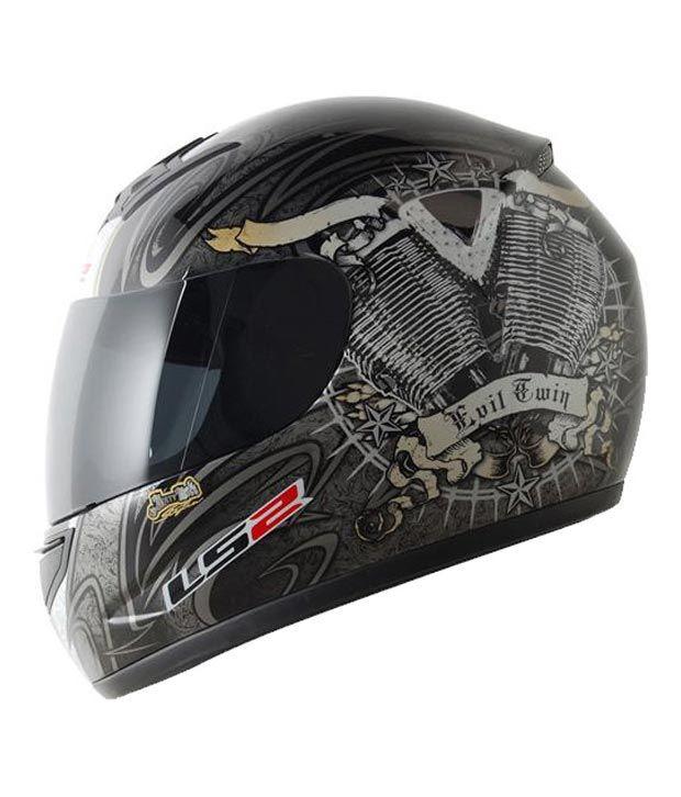 Ls2 Helmet Evil Twin Size 58cms Ece Certified