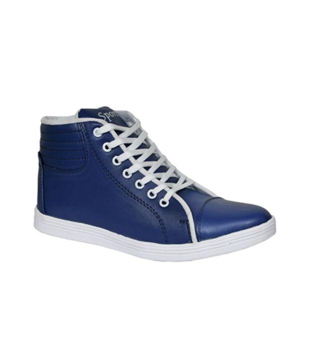 Sukun Blue Sneaker Shoes