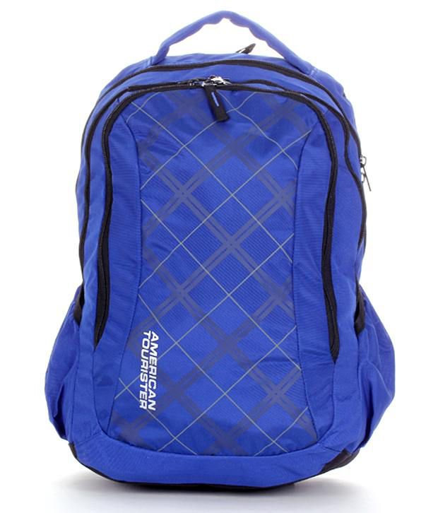 6651a5ac2 American Tourister Blue R51001002 Backpack: Buy Online at Low Price in  India - Snapdeal