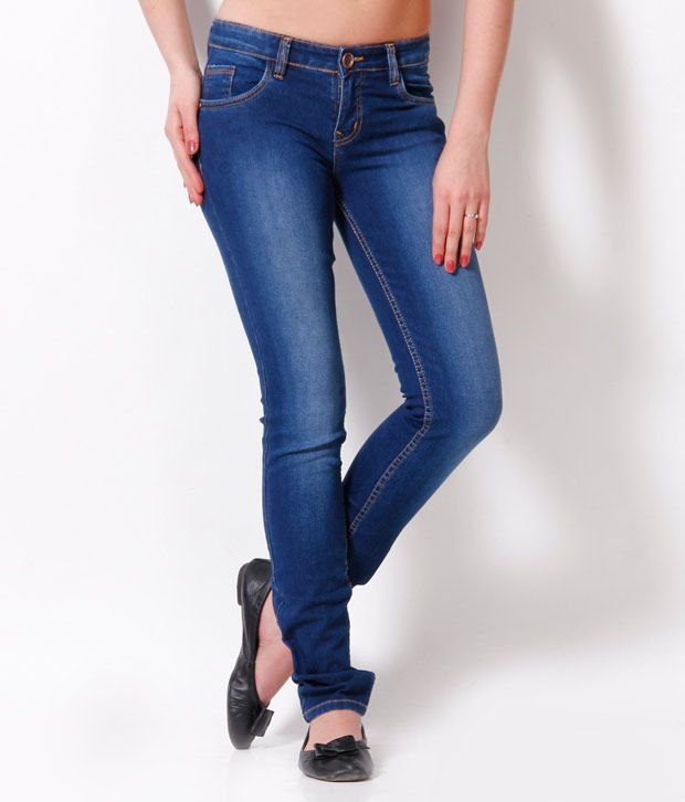 ... Cult Blue Denim Lycra Jeans Online at Best Prices in India - Snapdeal
