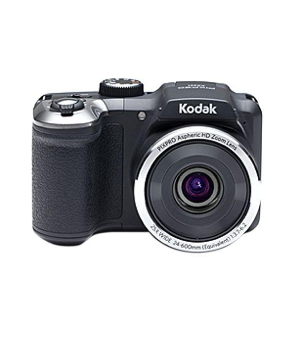 Kodak Pixpro AZ251 16MP Point & Shoot Digital Camera (Black)