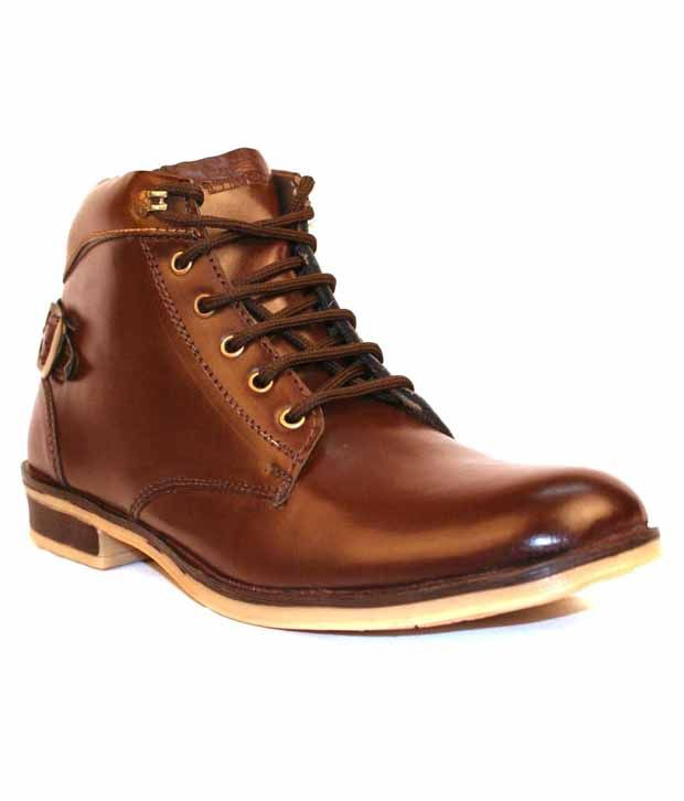 Derby Kohinoor Impressive Brown Ankle Length Boots