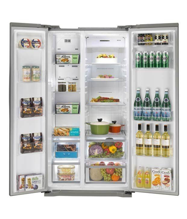 Lg 581 Ltr Gc B207glqv Side By Side Refrigerator Platinum Silver