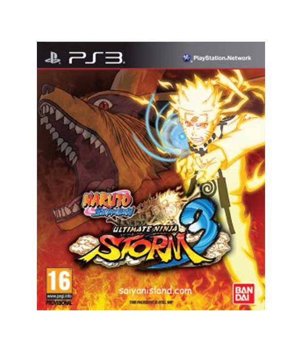 Buy Naruto Shippden Ultimate Ninja Storm 3 Full Burst PS3