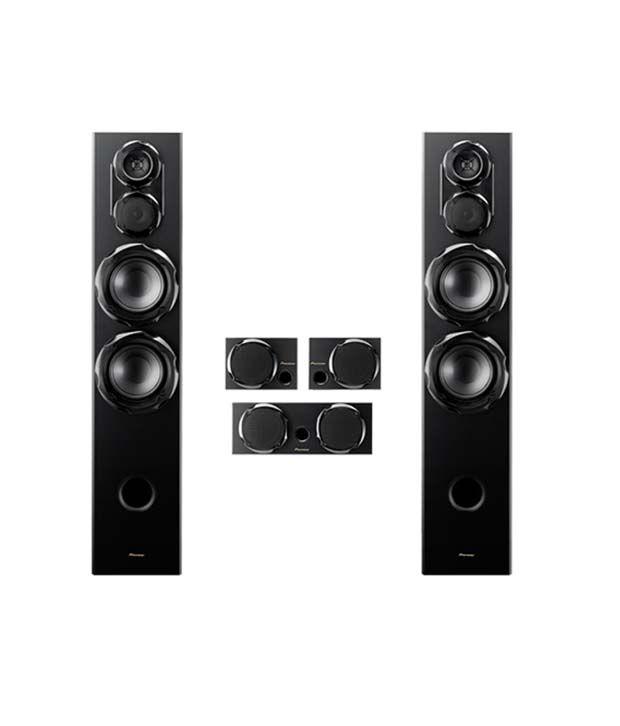 buy pioneer 5 1 powerful todoroki speaker system 1000w s. Black Bedroom Furniture Sets. Home Design Ideas
