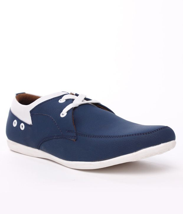 2f80a4c7a9d2f 42% OFF on Shoe Island Blue Derby Shoes on Snapdeal