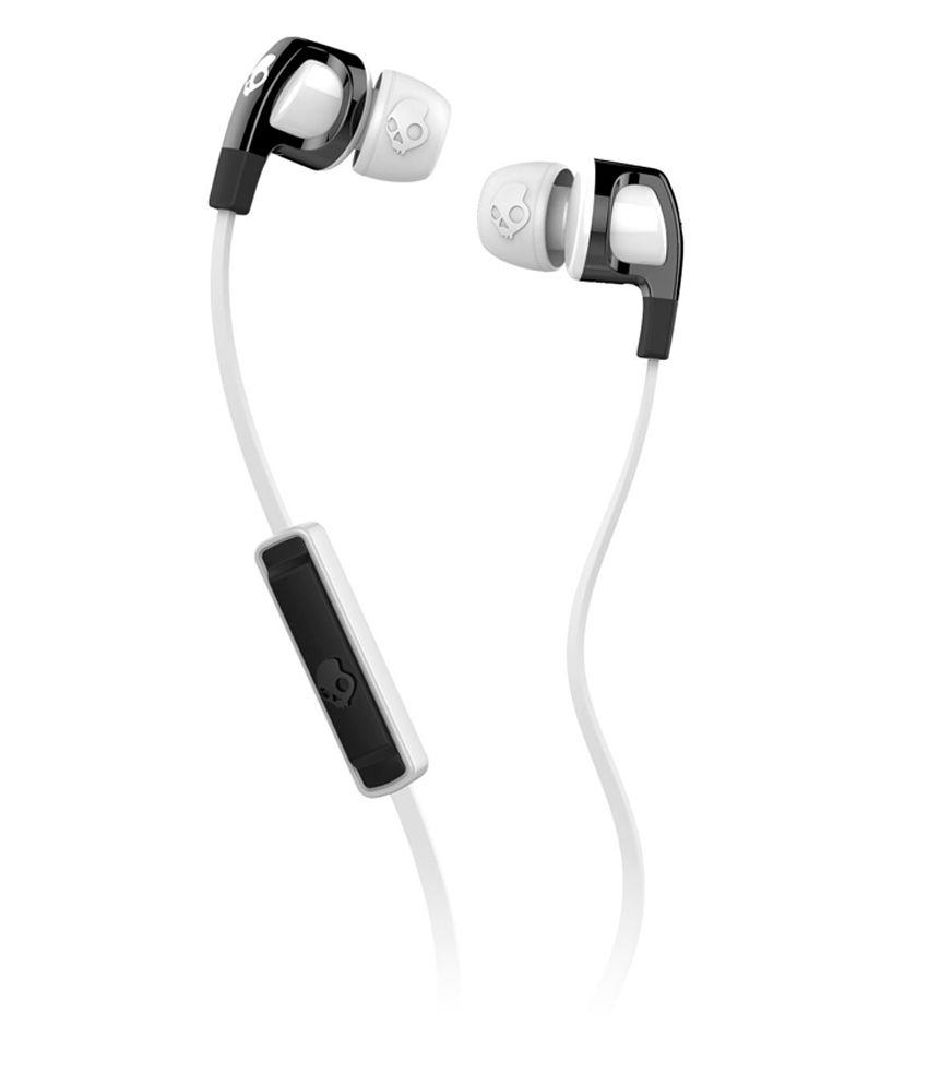 0e46ef850b8 Skullcandy Smokin Bud 2 S2PGFY-328 In Ear Earphones with Mic (White) With  Mic - Buy Skullcandy Smokin Bud 2 S2PGFY-328 In Ear Earphones with Mic ( White) ...