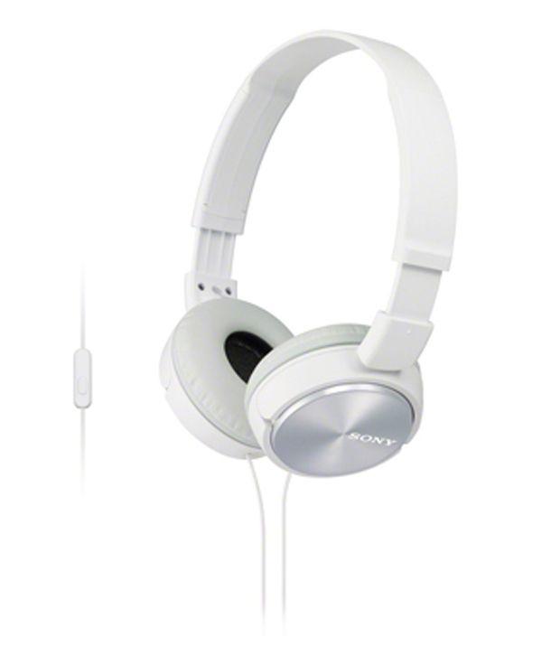 Sony earphones over ear - white sony earphones with mic