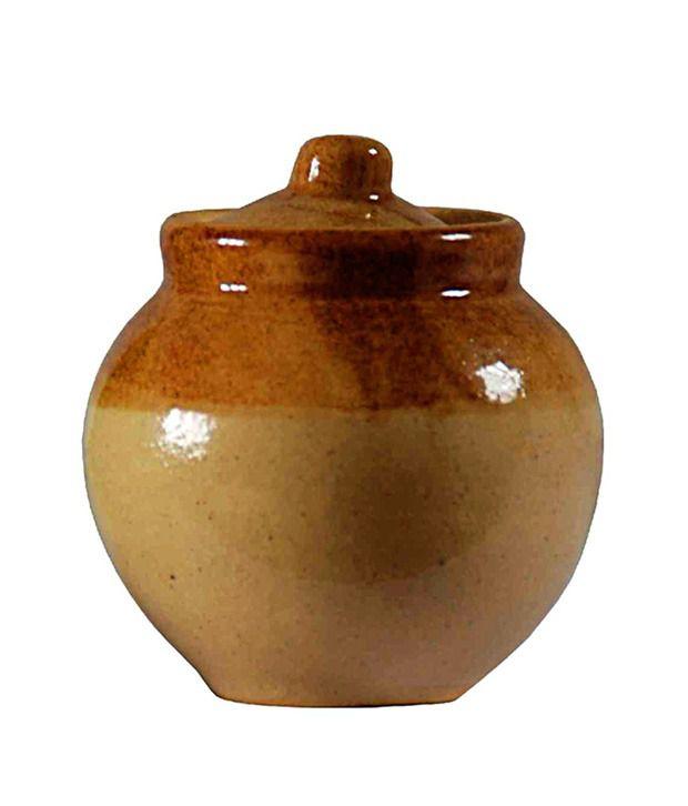 Villcart Round Ceramic Pickle Jar Buy Online At Best