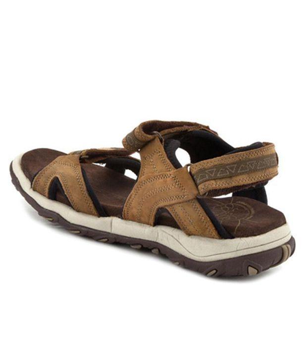 e71a2306b0e9 Woodland Leather Camel Brown Sandals Art GD1035111CAM - Buy Woodland ...