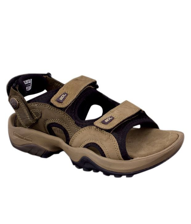 27782e455b79 Woodland Brown Floater Sandals - Buy Woodland Brown Floater Sandals ...