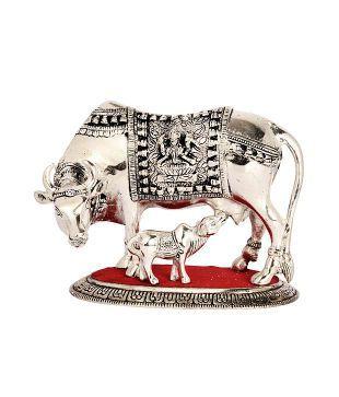Bharat Handicrafts Religious Cow Showpiece