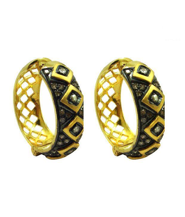 AG Victorian Diamond Ring Earring