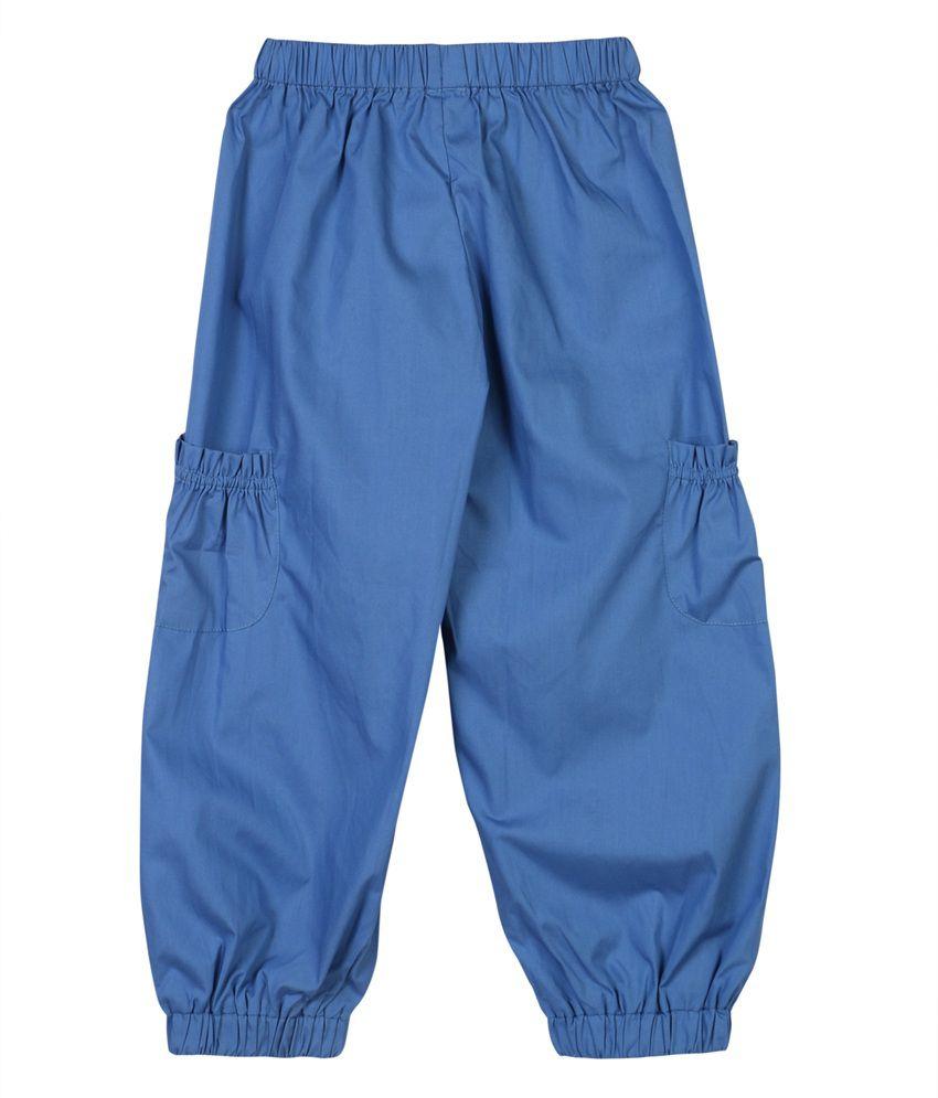 Aomi Zar Girls Casual Pajama Blue