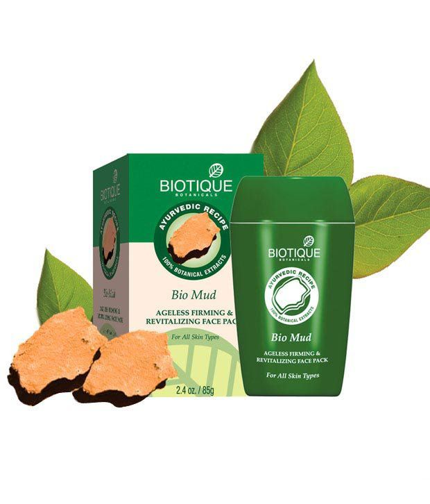 Biotique Mud Ageless Firming & Revitalizing Face Pack -85 G