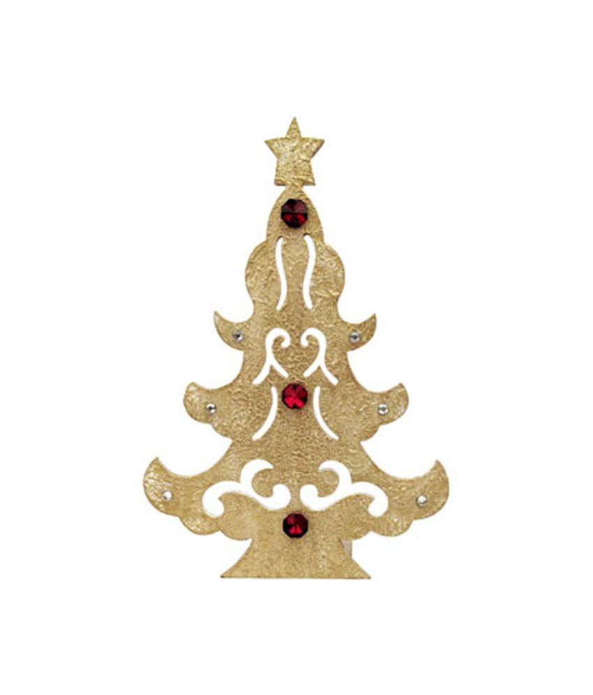 Butterfly Homes Christmas Tree Shape Tea Light Holder: Buy Butterfly ...