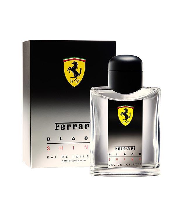 Ferrari Black Shine Men Edt 125Ml