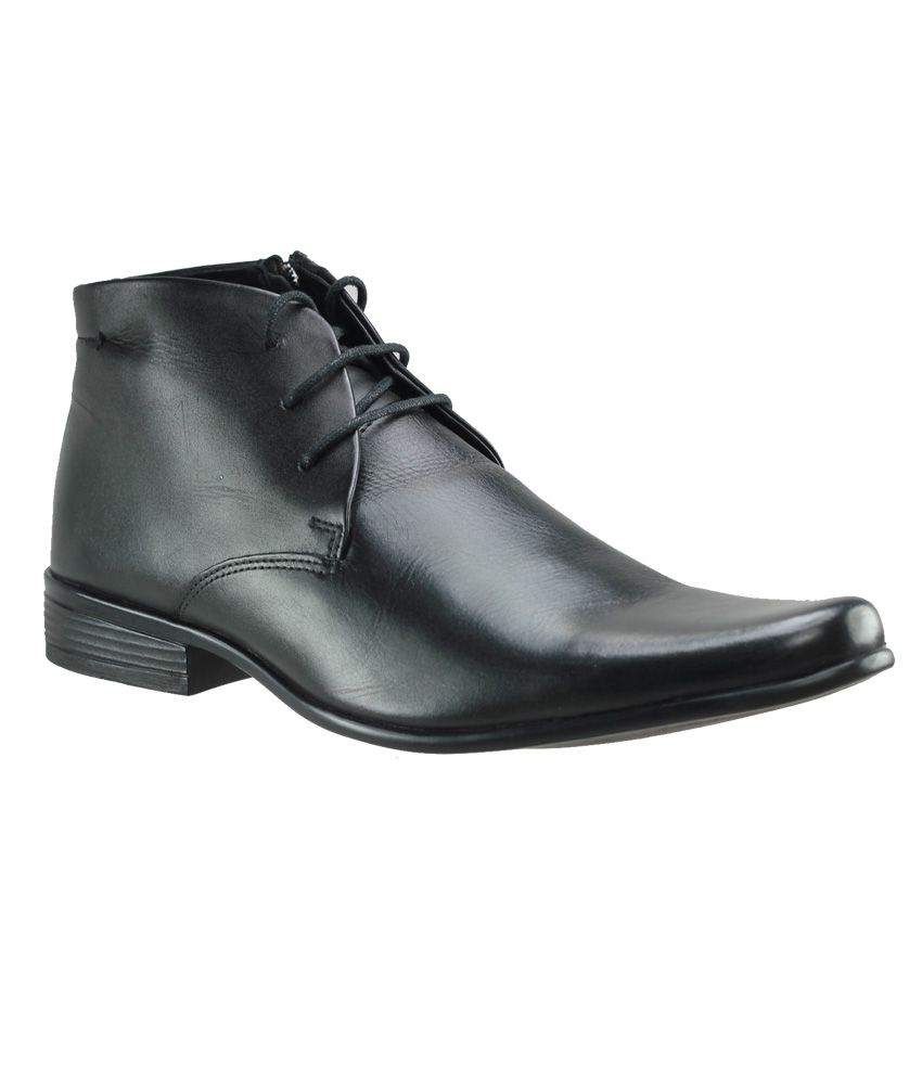 42b84fc3a2f4 Franco Leone Black Formal Shoes Price in India- Buy Franco Leone Black Formal  Shoes Online at Snapdeal