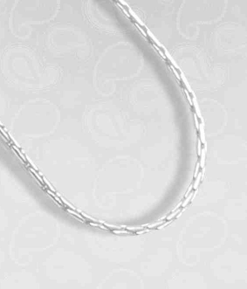 Hari Shanker Dazzling Sterling Silver Chain