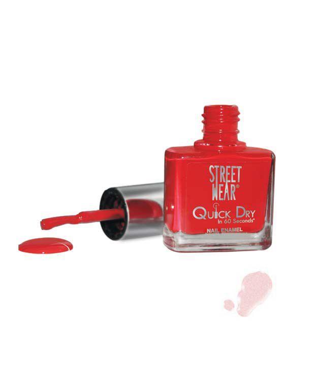 Street Wear Quick Dry Nail Enamel PANACHE PINK  9ML