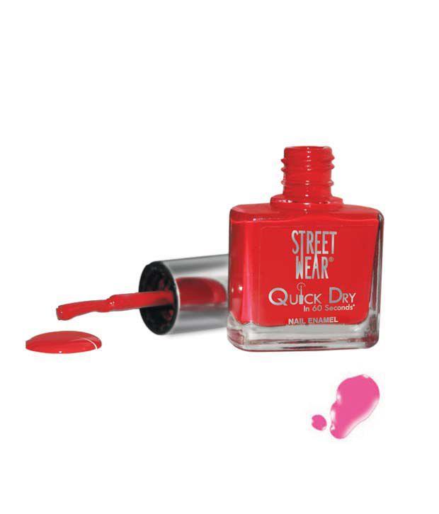Street Wear Quick Dry Nail Enamel PLUSH PINK  9ML