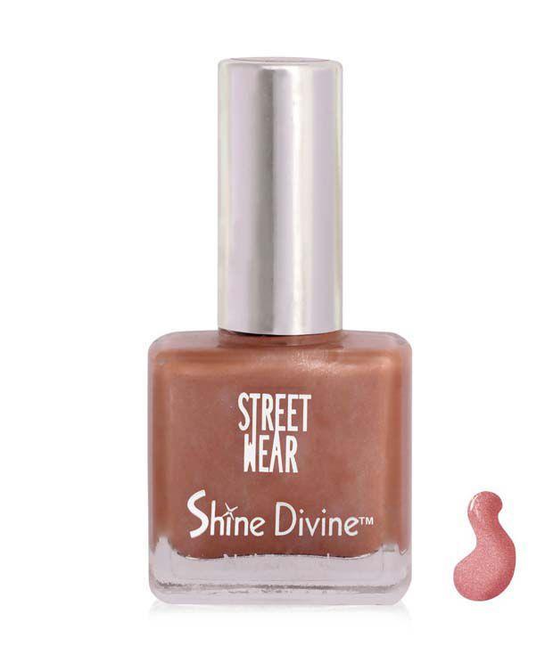 Street Wear Shine Divine Nail Enamel CORAL DIVINE  9ML