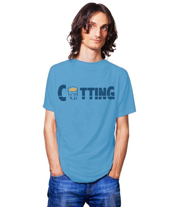 Tantra Blue Printed T Shirt