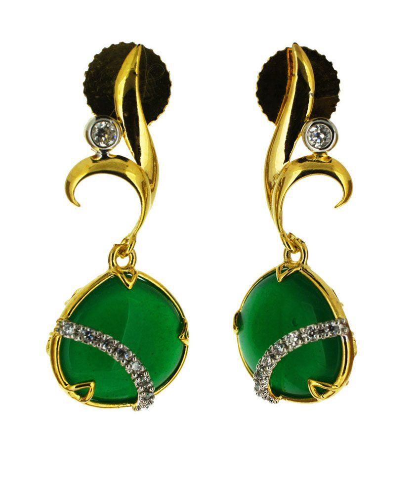 Aabhushan Jewels Good Looking American Diamond Earrings