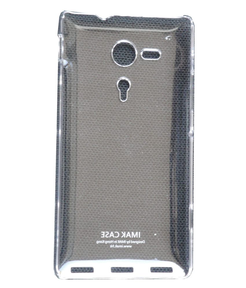 best sneakers 095fc 775fc Boso Slim Crystal Clear Hard Back Cover Case For Sony Xperia SP M35H -  Transparent
