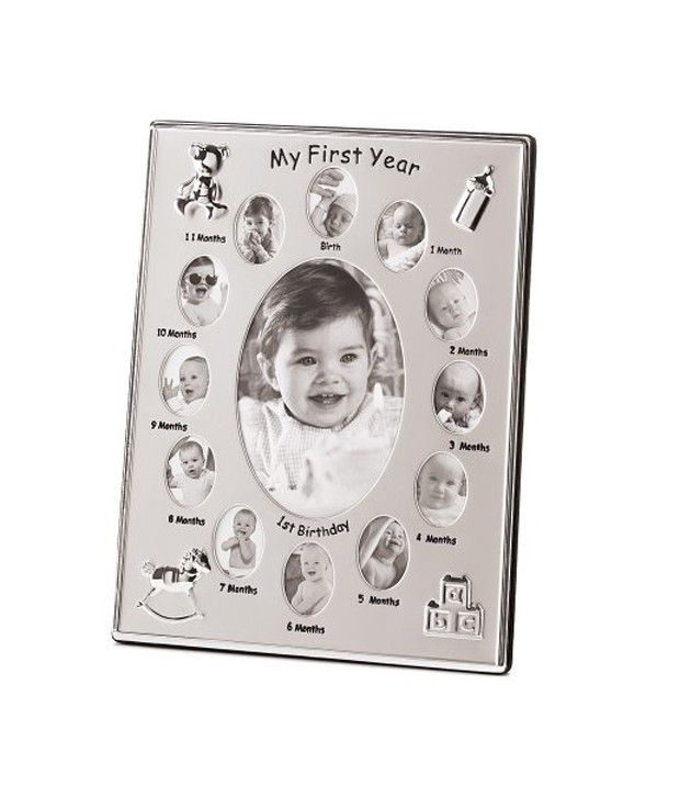 Gifts Decor My First Year Baby Month Photo Frame Buy Gifts