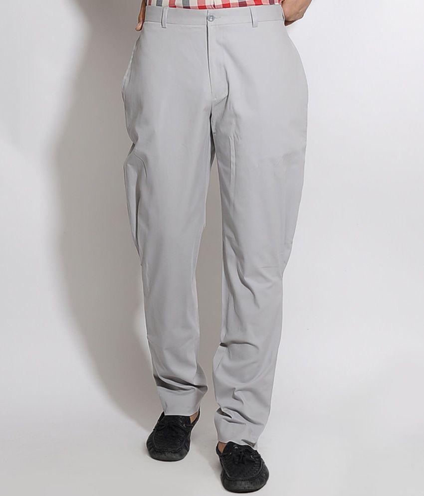 I Know Grey Jodhpuri Trouser