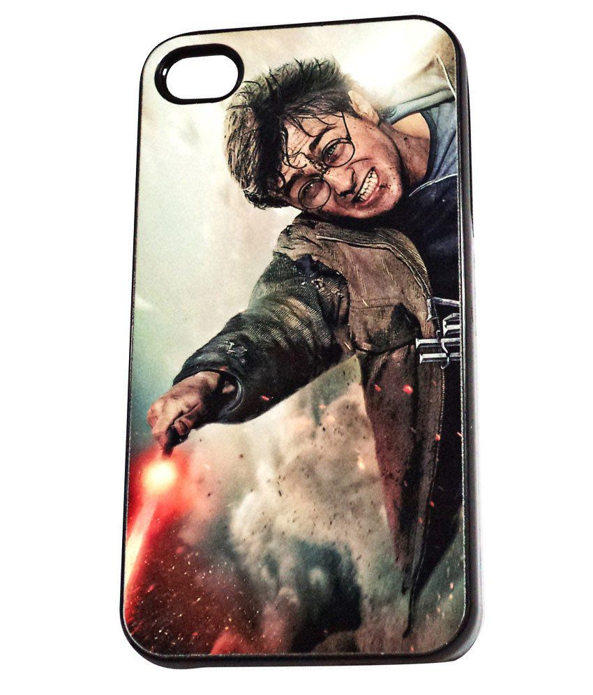 low priced 86023 257b2 Mejorbuy Harry Potter Design Back Cover Case for Apple iPhone 4 & 4S ...