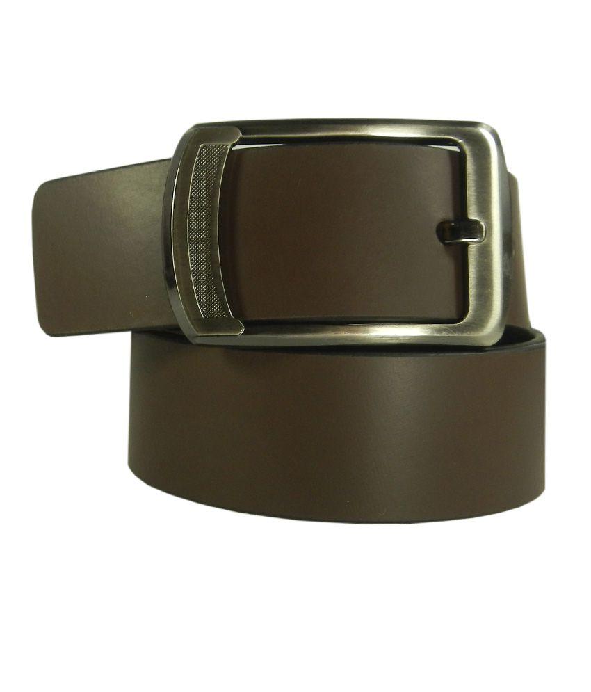 Silverbull Brown Leather Belt
