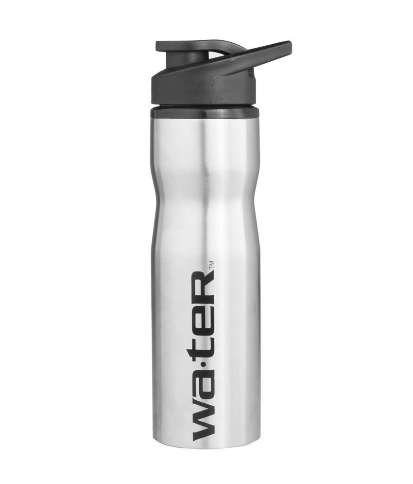 Sports Sipper Bottle: Water Stylish Steel Bottle Silver 750 Sports Sipper Set Of