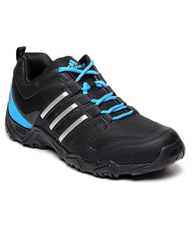 Adidas Notable Black And Blue Sports Shoes