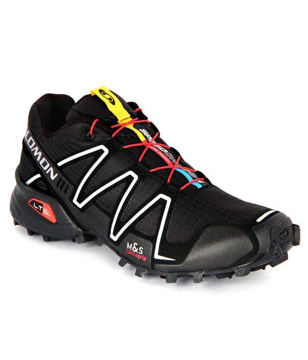 new styles 2f3a6 1d11d Salomon Speedcross 3 Black Running Shoes