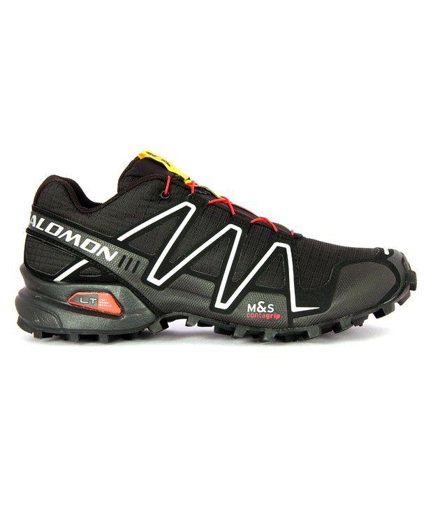 photos officielles 648a9 04dbd Salomon Speedcross 3 Black Running Shoes - Buy Salomon ...