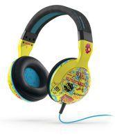 Skullcandy Wired Headphones With Mics  Headphones & MicsBlack & Magenta