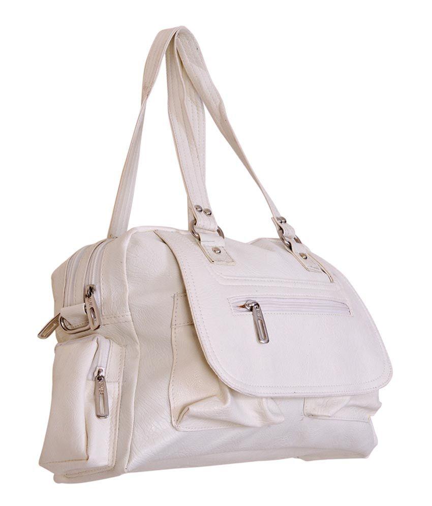 d94380b7a5d RJB N006 White Handbags - Buy RJB N006 White Handbags Online at Best ...