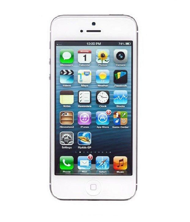 iPhone 5 64GB White Mobile Phones Online at Low Prices ...