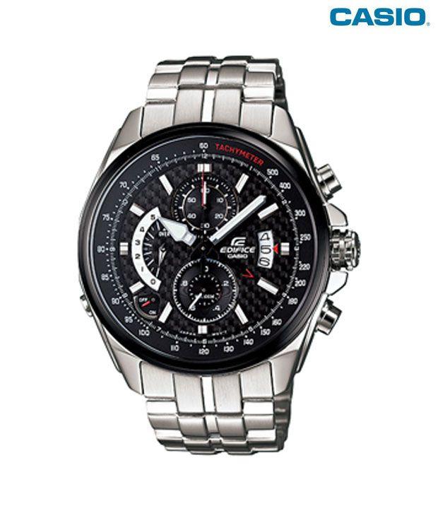 Casio Fascinating Black Chrono Watch