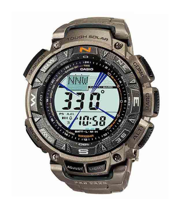Casio Outdoor Digital PRG-240T-7DR (SL49 ) Men's Watch
