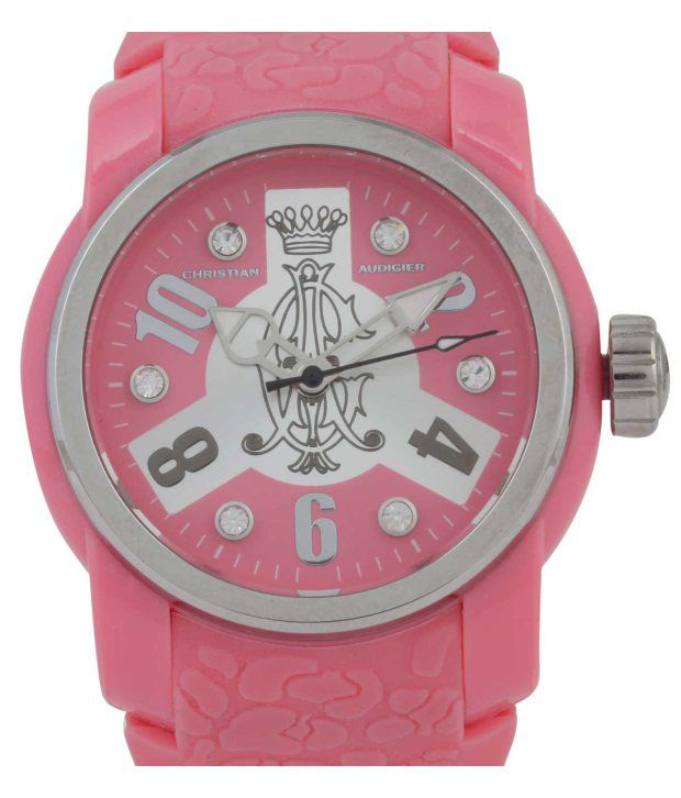 Christian Audigier Pink Women Analog - Wrist Watches Price in India  Buy Christian  Audigier Pink Women Analog - Wrist Watches Online at Snapdeal bd43322d55cd5