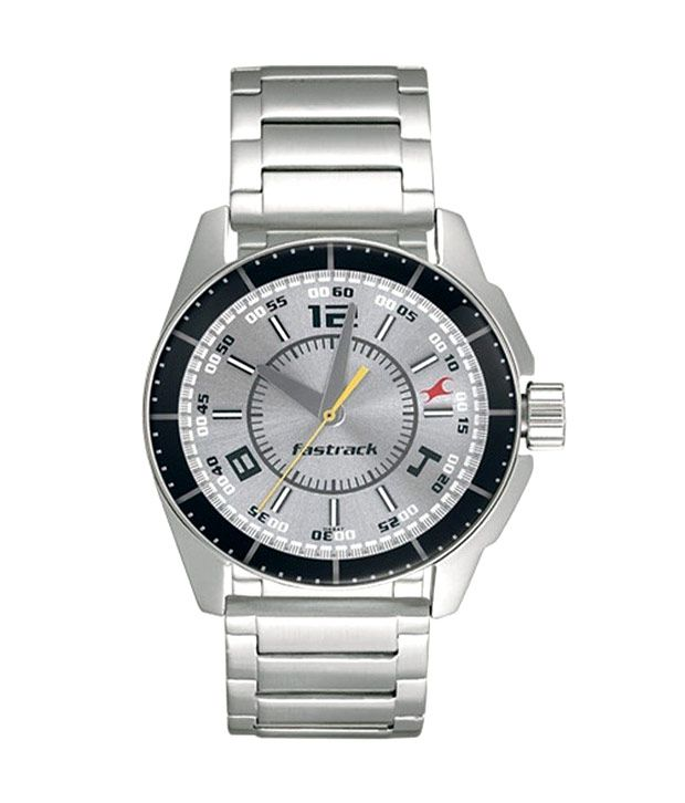 Fastrack Silver Metal Analog Watch - Buy Fastrack Silver ...